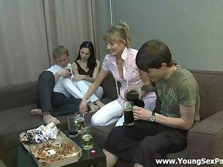 Wonderful group sex